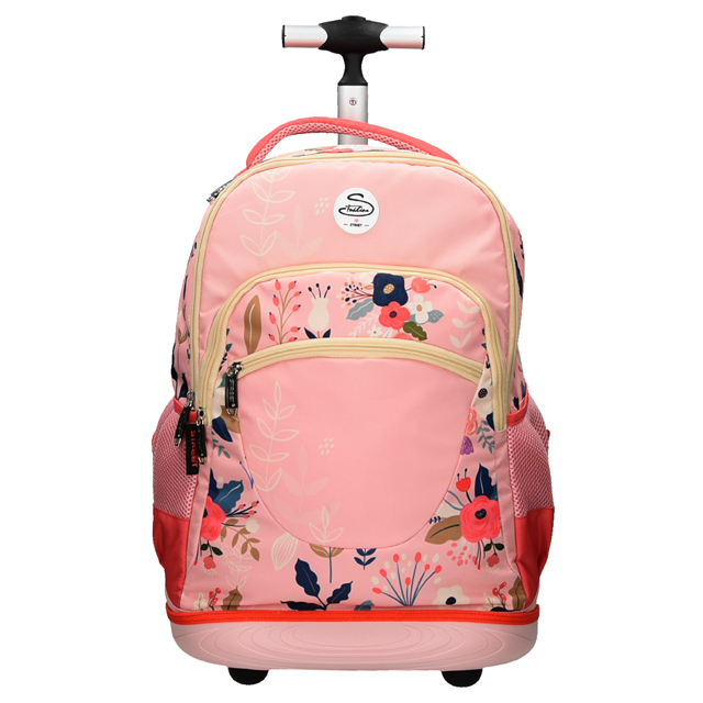 c54b9fba48 Kompaktná školská taška na kolieskach MUST - fialová - MIRA OFFICE