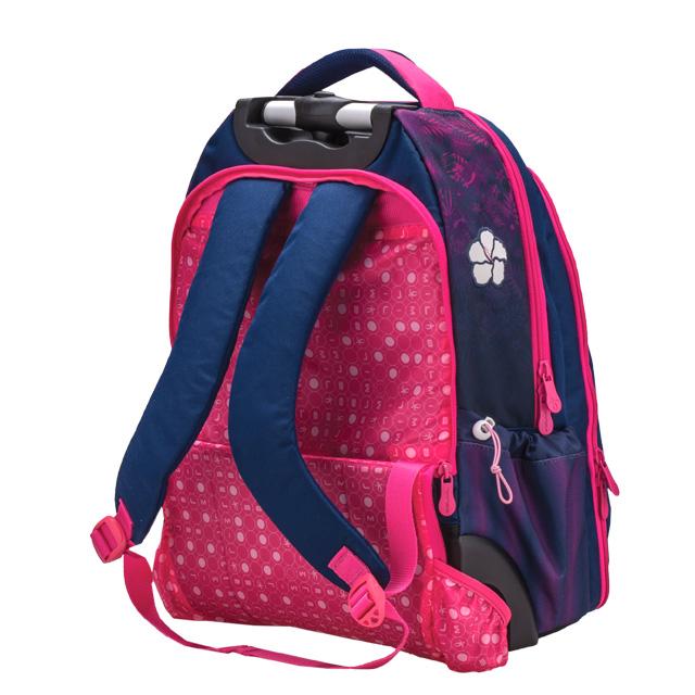 7078cac035 Školská taška Belmil na kolieskach Flamingo - MIRA OFFICE