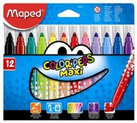 Fixky MAPED/12ks MAXI Color Peps
