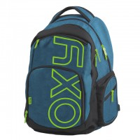 Batoh OXYSTYLE BLUE/GREEN PP