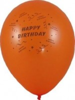 Balony guľa M 58530 HAPPY BIRTHDAY